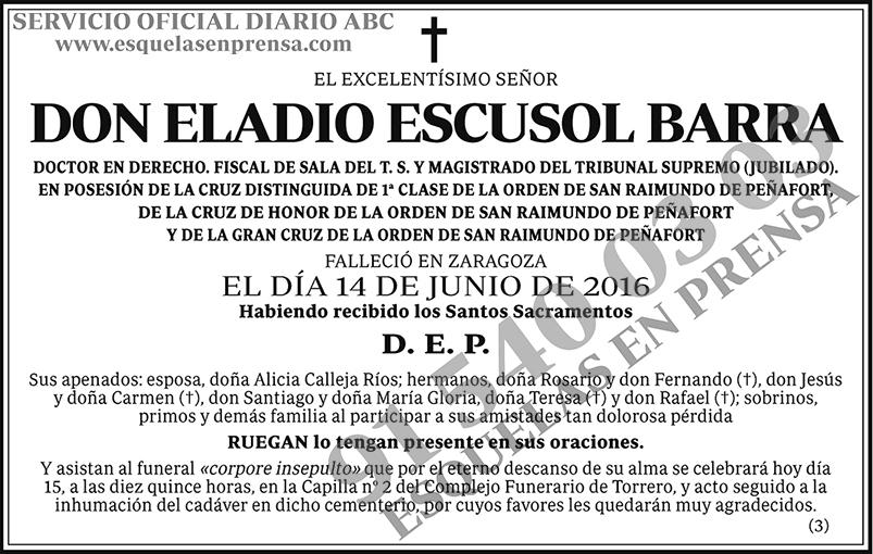 Eladio Escusol Barra